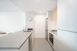 The Kitchen of Horizon Two Bedroom Apartment B1008.