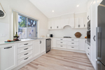 The Kitchen at James Street Morpeth Three Bedroom Townhouse.