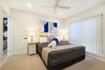 The Main Bedroom at James Street Morpeth Three Bedroom Townhouse.