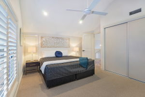 The Third Bedroom at James Street Morpeth Three Bedroom Townhouse.