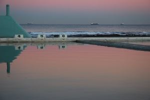 Newcastle Ocean baths.