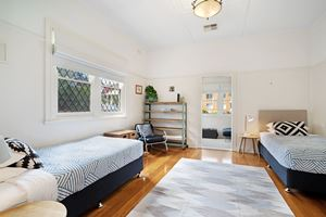 The Third Bedroom at Cooks Hill Cottage.