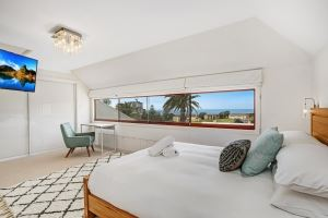 The Main Bedroom of Oceanview Terrace.