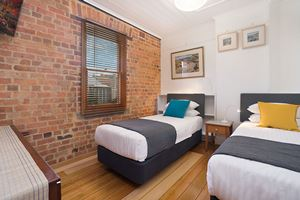 The second bedroom at 9 Alfred Street Terrace.