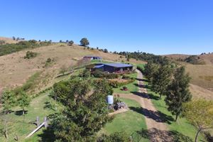 Aerial View of Sanctuary Hill Retreat.